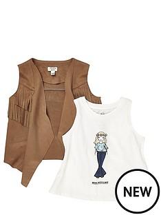 river-island-mini-girls-festival-girl-t-shirt-and-fringe-waistcoat-set