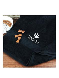 personalised-pet-towel