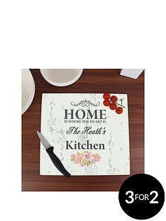 personalised-shabby-chic-home-glass-chopping-board