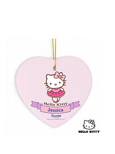 personalised-hello-kitty-ballet-ceramic-heart