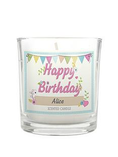 personalised-birthday-craft-votive-scented-candle