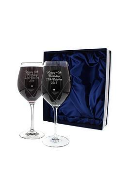 personalised-swarovski-wine-glasses