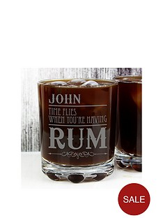 personalised-time-flies-when-you039re-having-rum-tumbler