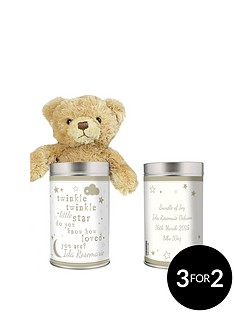 personalised-twinkle-twinkle-teddy-in-tin
