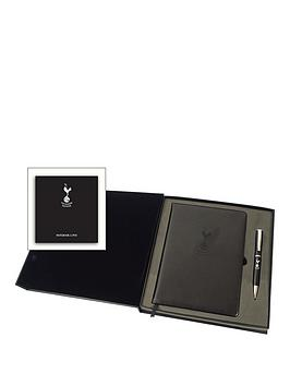 Tottenham Hotspur Tottenham Hotspurs Executive Notebook &Amp Pen In Gift Box