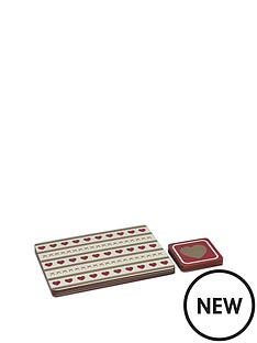 hearts-coaster-and-placemat-set
