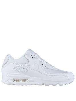 Nike Air Max 90 Essential Shoe  Triple White