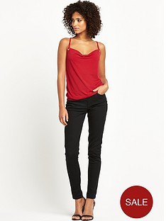 v-by-very-cowl-neck-bubble-hem-top