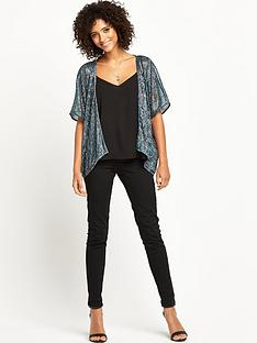 v-by-very-pleated-metallic-cover-up