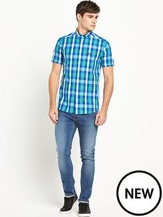 lyle-scott-lyle-amp-scott-ss-check-shirt
