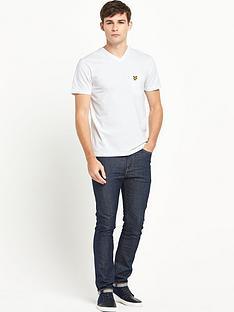 lyle-scott-lyle-amp-scott-v-neck-pocket-tshirt