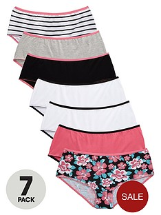 freespirit-girls-shortienbspbriefs-7-pack