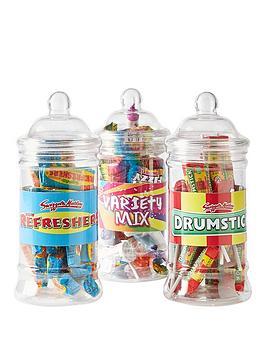 swizzels-variety-mix-set-of-3-sweet-jars
