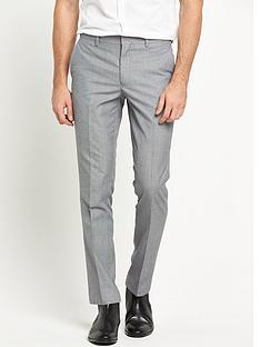 river-island-grey-slim-suit-trouser