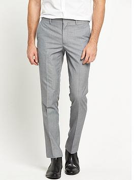 river-island-grey-slim-suit-trouser