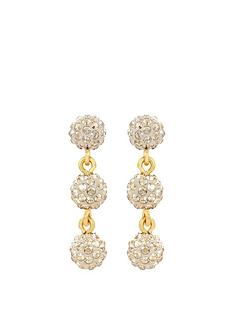 lola-and-grace-plated-mini-sparkle-triple-long-earrings-made-with-swarovskireg-crystal