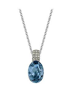 lola-and-grace-rhodium-plated-oval-crystal-solitaire-pendant-necklace-made-with-swarovski-crystal