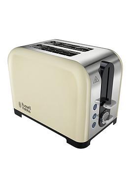 russell-hobbs-22393-canterbury-2-slice-toaster-cream