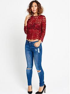 myleene-klass-lace-scallop-blouse