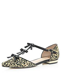 river-island-2-part-pointed-ballerina-shoes-with-bow