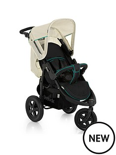 hauck-viper-3-wheel-pushchair-caviar-beige