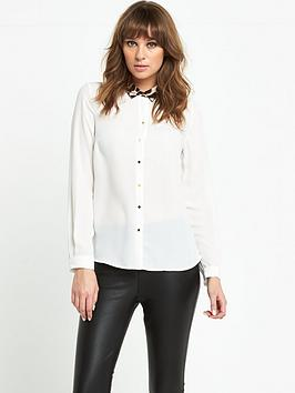v-by-very-animal-contrast-collar-blouse