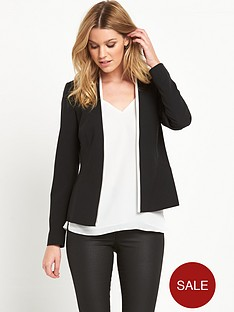 v-by-very-contrast-edge-to-edge-jacket-black