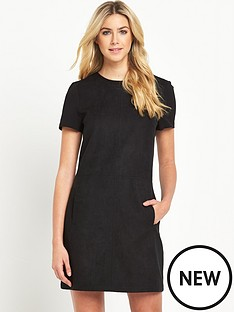 oasis-suedette-t-shirt-dress