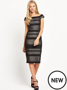 warehouse-bardot-lace-dress