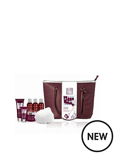 baylis-harding-midnight-fig-ampamp-pomegranate-weekend-bag