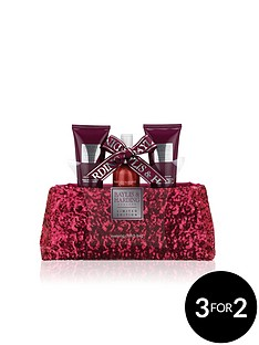 baylis-harding-midnight-fig-ampamp-pomegranate-clutch-bag-set