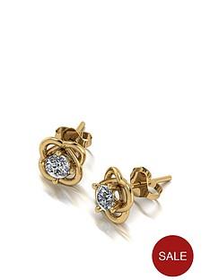moissanite-9ct-gold-50-point-moissanite-knot-earrings