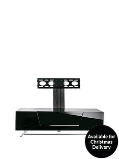 alphason-chromium-1200-mm-tv-stand-with-bracket-black-fits-up-to-50-inch-tv