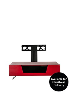 alphason-chromium-1200mm-tv-stand-with-bracket-red