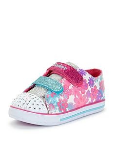 skechers-twinkle-toes-sparkle-canvas-strap-shoe
