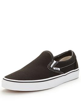 68123ebf3f79c8 Vans Classic Slip-On Trainers