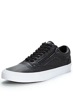 vans-old-skool-perforated-leather-mens-plimsolls