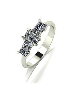 moissanite-9ct-gold-emerald-cut-1-carat-trilogy-ring