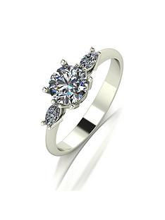 moissanite-9ct-gold-round-brilliant-and-marquise-set-1-carat-trilogy-ring