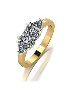 moissanite-9ct-gold-square-and-trillion-set-12-carat-trilogy-ring