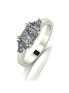 moissanite-9ct-gold-square-and-trillion-set-12-carat-trilogy-ring