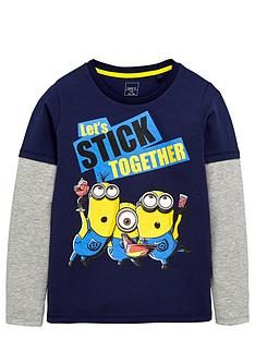 minions-boys-mock-layered-long-sleeve-tee