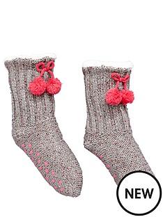 freespirit-3-pack-gripper-sole-christmas-socks