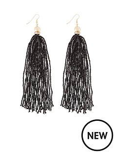 beaded-tassle-earringsnbsp