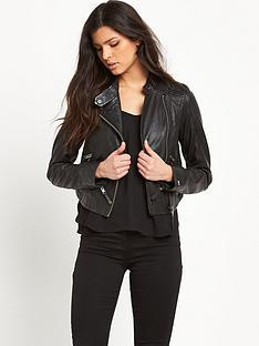hilfiger-denim-leather-biker-jacket