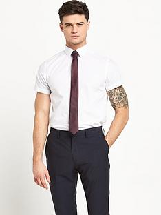 v-by-very-short-sleeve-slim-mens-shirt
