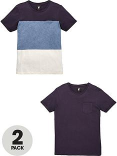 v-by-very-crew-neck-short-sleeve-2-pack-solid-amp-colour-block-tees