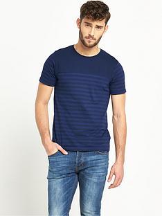 v-by-very-crew-neck-short-sleeve-stripe-t-shirt