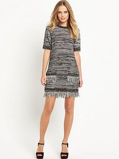 south-fringe-hem-pocket-dress