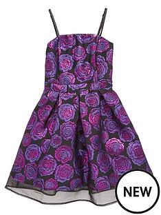 freespirit-girls-strappynbspjacquard-dress